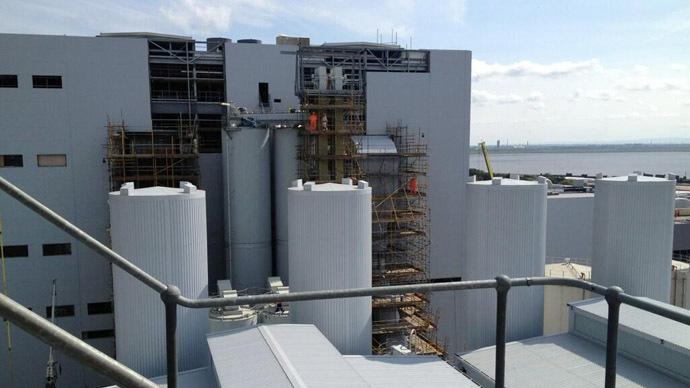 Runcorn Thermal Power Station (Photo from Twitter/@designmeglasgow)