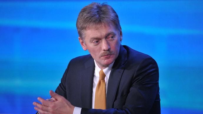 President Vladimir Putin's spokesman Dmitry Peskov (RIA Novosti/Aleksey Nikolskyi)