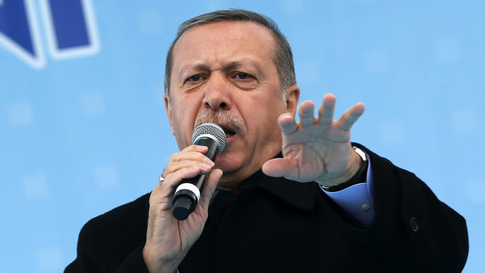 Turkey's Prime Minister Tayyip Erdogan (Reuters/Umit Bektas)