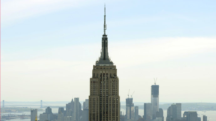 The Empire State Building (AFP Photo/Timothy A. Clary)