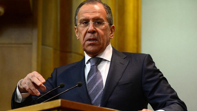Sergei Lavrov.(RIA Novosti / Evgeny Biyatov)