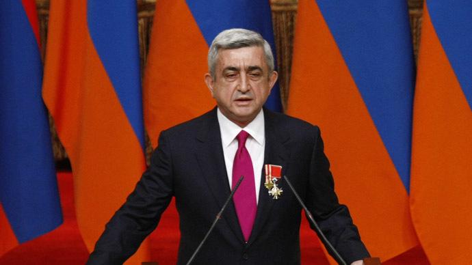Armenian President Serzh Sargsyan (RIA Novosti/Tigran Mekhrabyan)