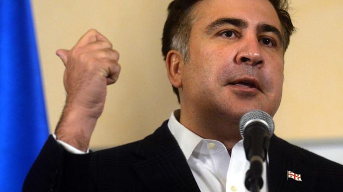 Former Georgian President Mikhail Saakashvili (AFP Photo / Vasily Maximov)