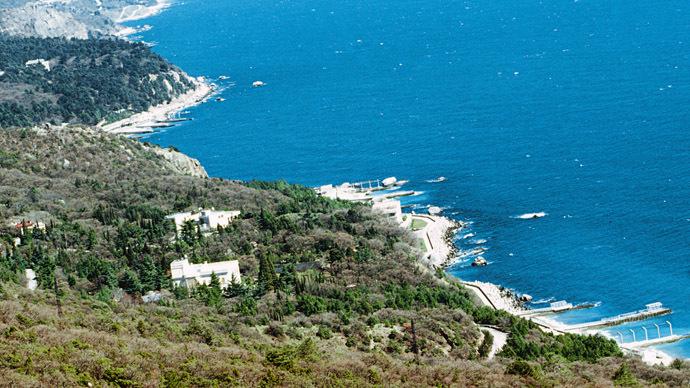 Black sea coastline, Yalta, the Crimea (RIA Novosti/Igor Mikhalev)