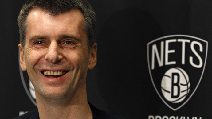 Brooklyn Nets owner Mikhail Prokhorov (Reuters/Adam Hunger)