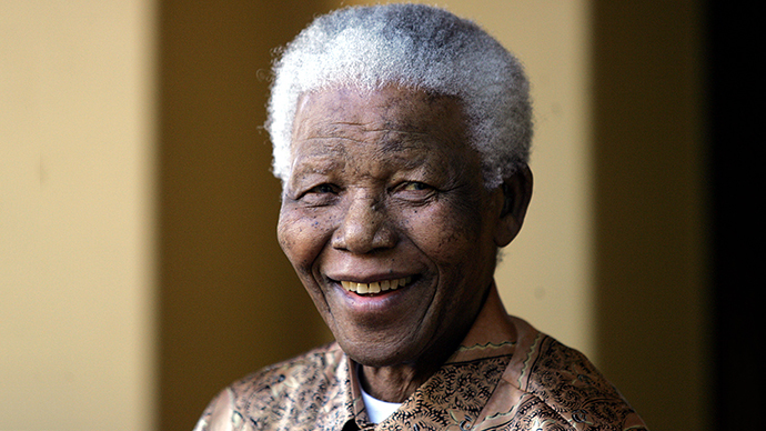 Nelson Mandela (AFP Photo / Alexander Joe)