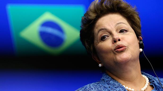 Brazil's President Dilma Rousseff (Reuters / Francois Lenoir)