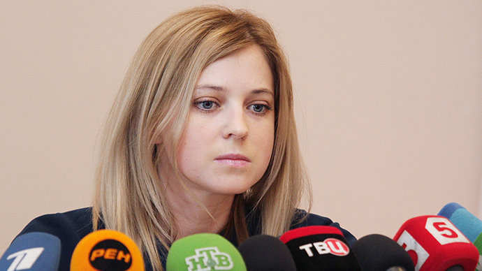 Prosecutor of the Republic of Crimea Natalya Poklonskaya (RIA Novosti / Taras Litvinenko)