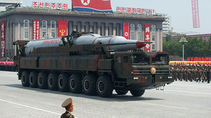 A North Korean Taepodong-class missile (AFP Photo / Ed Jones)