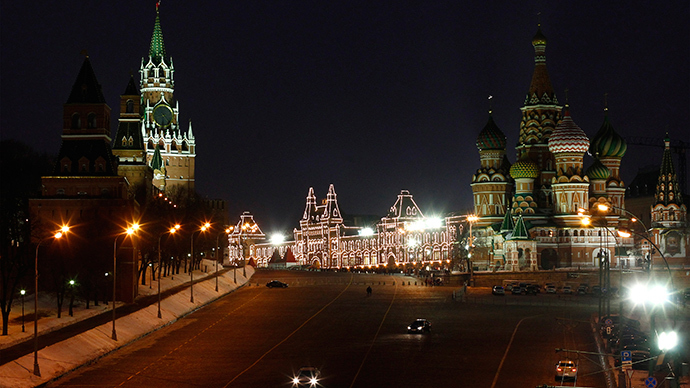 A view of St. Basil's Cathedral, Red Square and the Kremlin (Reuters)
