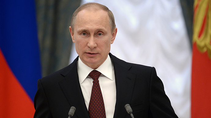 Russia's President Vladimir Putin (AFP Photo / Alexey Nikolsky)