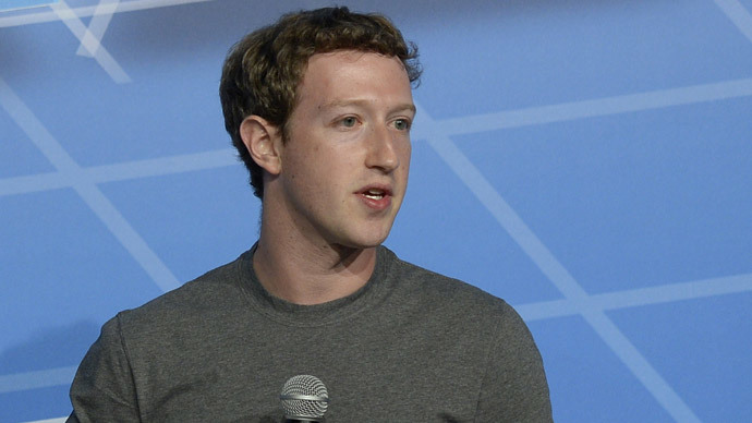 Mark Zuckerberg (AFP Photo / Lluis Gene)