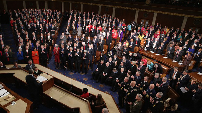 President Obama Delivers State Of The Union Address At U.S. Capitol (AFP Photo / Chip Somodevilla)