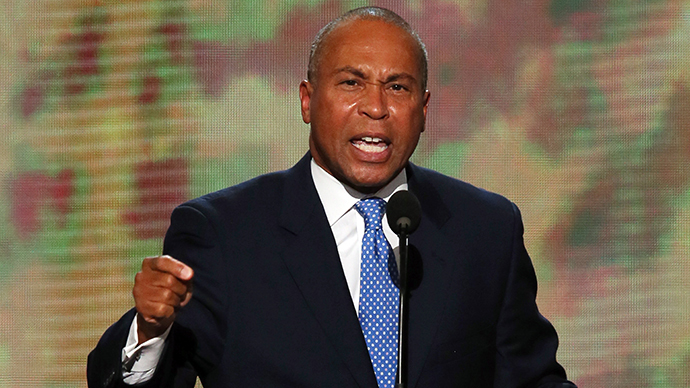 Massachusetts Gov. Deval Patrick (AFP Photo / Getty Images / Alex Wong)