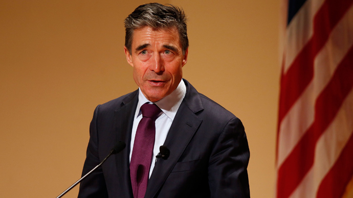 NATO Secretary General Anders Fogh Rasmussen (Reuters / Larry Downing)
