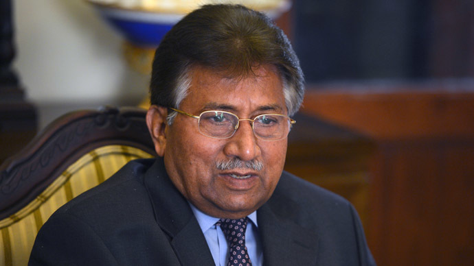 Pervez Musharraf (AFP Photo/Farooq Naeem)