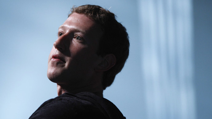Facebook CEO Mark Zuckerberg (Reuters/Jonathan Erns)
