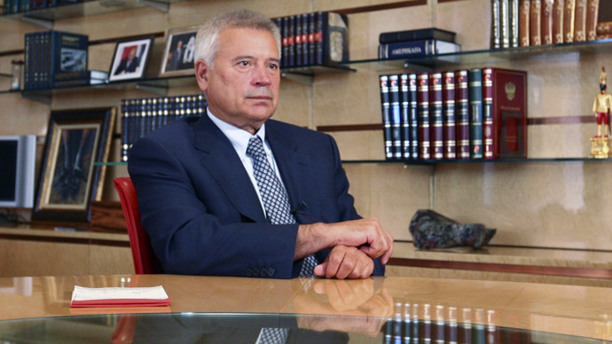Vagit Alekperov, CEO of Russian oil company Lukoil (Reuters/Olesya Astakhova)