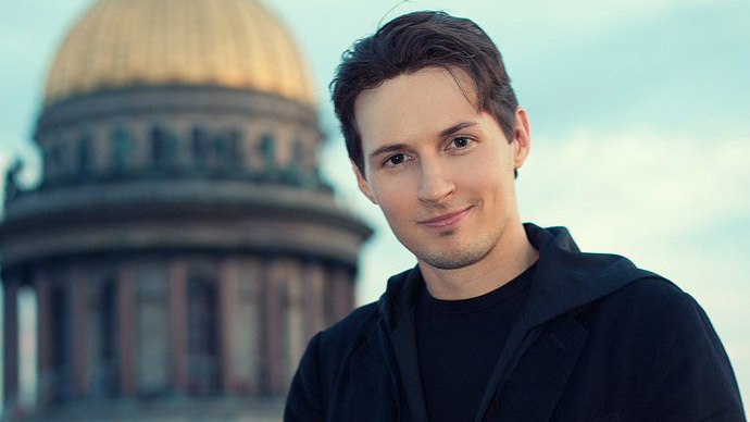 Source: Pavel Durov's VKontakte page