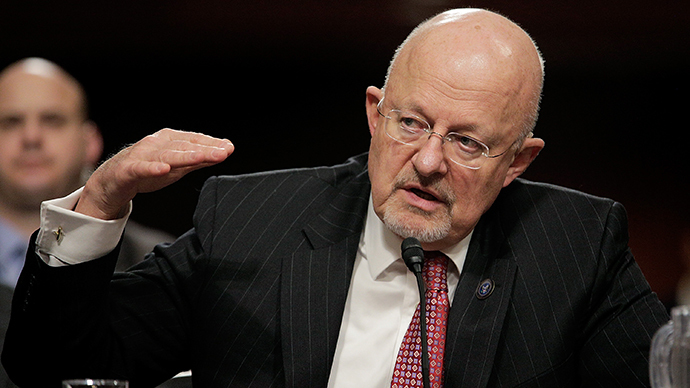 Director of National Intelligence James Clapper Jr. (AFP Photo / T.J. Kirkpatrick)