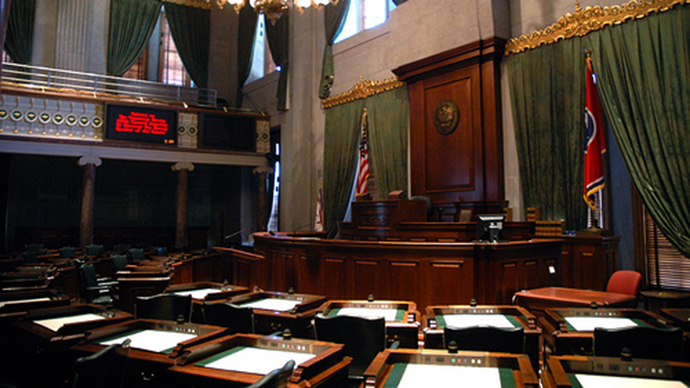 The Tennessee state Senate (Image from wikipedia.org)