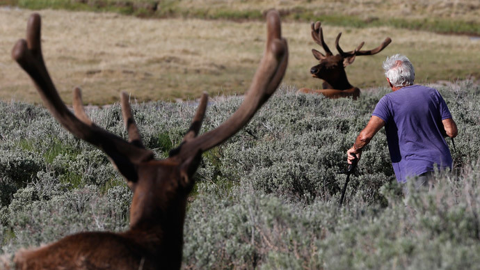 Yellowstone National Park (Reuters / Jim Urquhart)