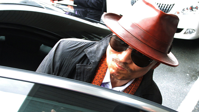 Kenichi Shinoda, the boss of Japan's largest yakuza gang, the Yamaguchi-gumi, in 2011 after his release from a Tokyo prison.  (AFP Photo / Jiji Press)