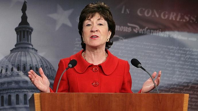 U.S. Sen. Susan Collins (R-ME) (AFP Photo / Getty Images / Alex Wong)
