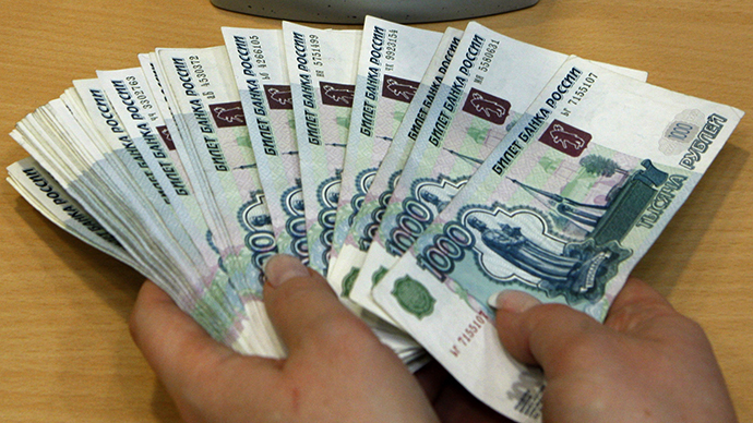 Russian rouble banknotes (Reuters / Alexander Demianchuk)