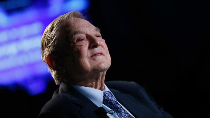 George Soros.(Reuters / Pascal Lauener)