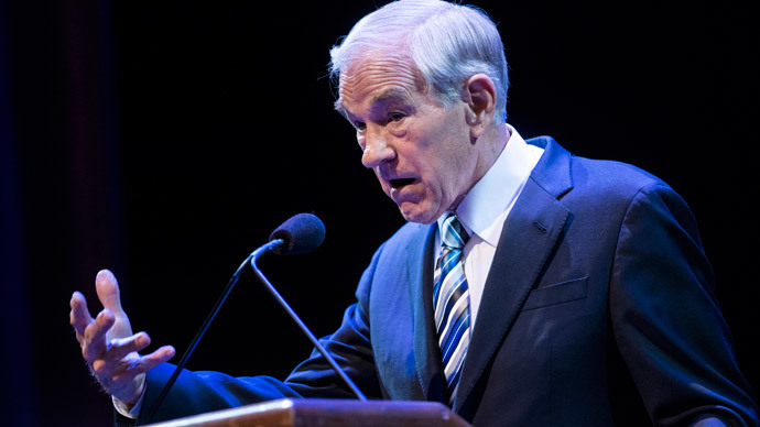 Ron Paul.(AFP Photo / Brendan Smialowski)