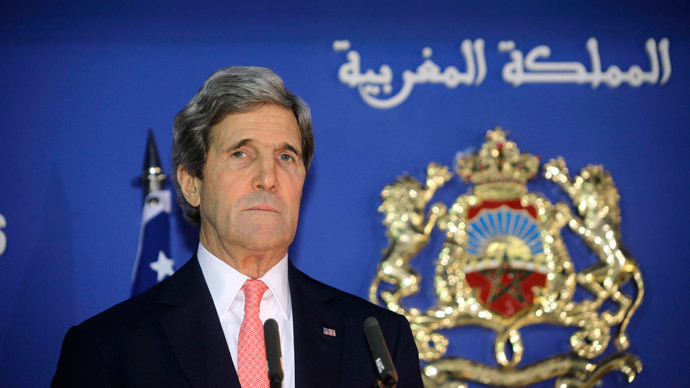 U.S. Secretary of State John Kerry.(Reuters / Stringer)