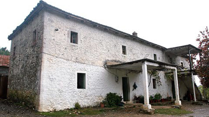 The notorious 'Yellow House' in northern Albania, where victims were supposedly taken to have their organs removed.