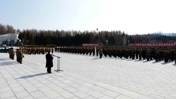 North Korean leader Kim Jong Un.(Reuters / KCNA)