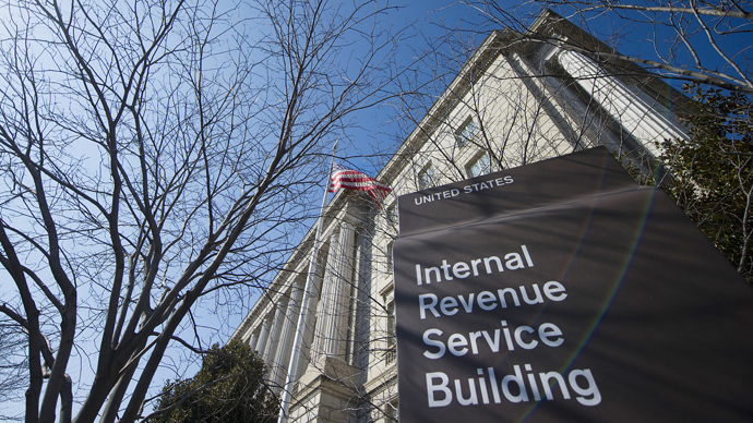 The Internal Revenue Service (IRS) building is viewed in Washington, DC (AFP Photo / Jim Watson)