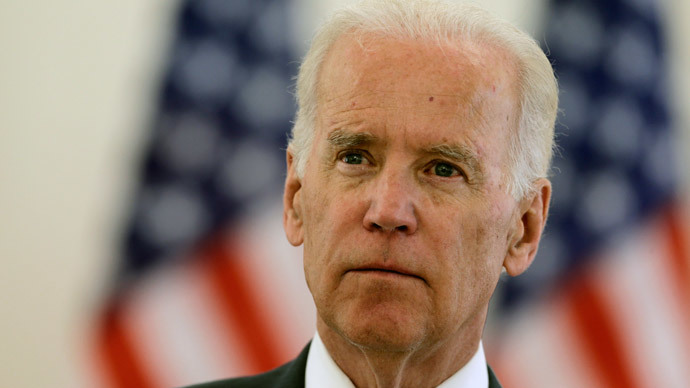 U.S. Vice President Joe Biden.(Reuters / Ints Kalnins)