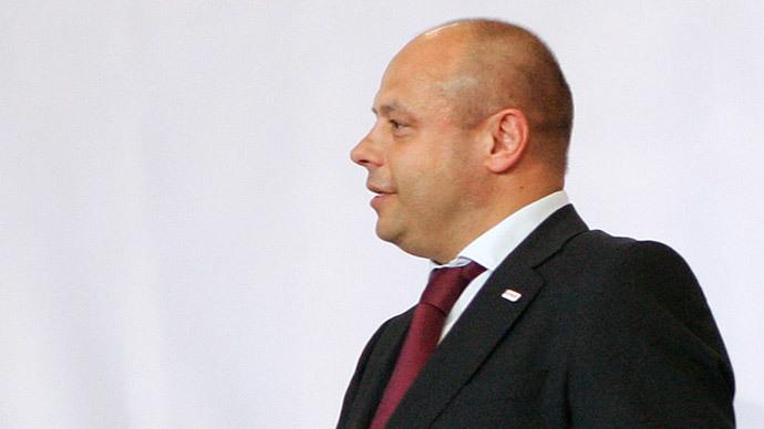 Yuriy Prodan.(Reuters / David W Cerny)