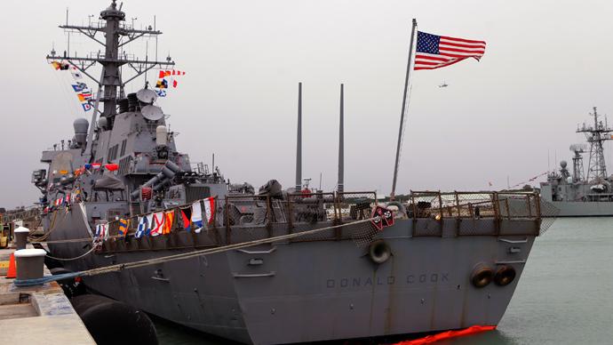 The USS Donald Cook (AFP Photo)