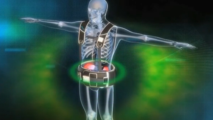 The radiation belt is a new line of defense in nuclear emergencies, screenshot from Reuters video.