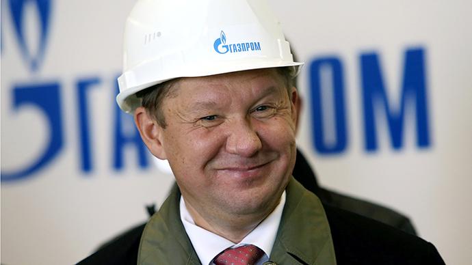 Gazprom CEO Alexei Miller (RIA Novosti / Igor Zarembo)