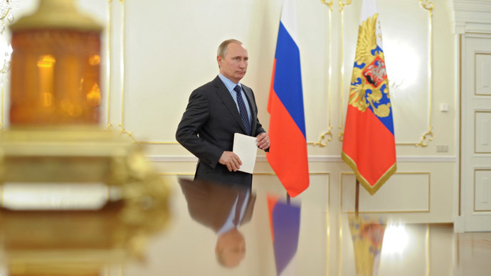 Russia's President Vladimir Putin.(AFP Photo / Mikhail Klimentyev)