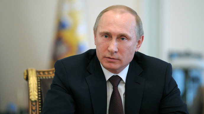 Vladimir Putin (RIA Novosti / Alexei Druzhinin)