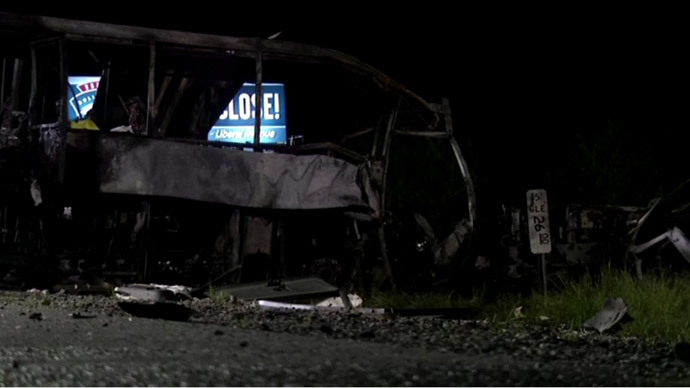 Screenshot from AP video