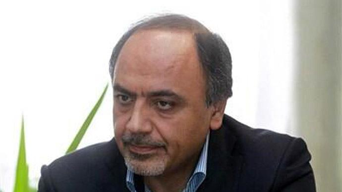 Hamid Aboutalebi (Photo from Twitter/@NegarMortazavi)