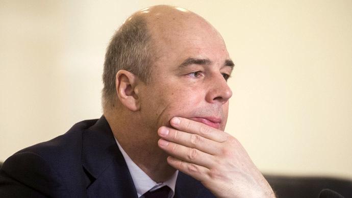 Russian Finance Minister Anton Siluanov (RIA Novosti/Sergey Guneev)