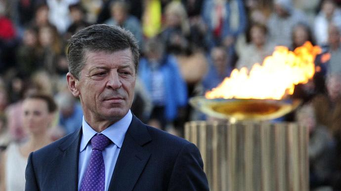 Deputy Prime Minister of the Russian federation, Dmitry Kozak (AFP Photo)