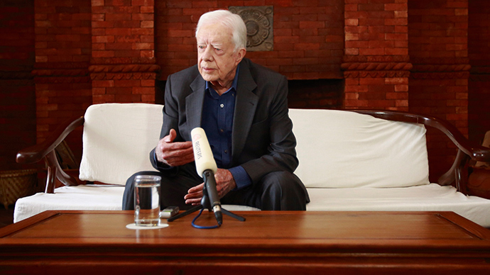 Former U.S. President Jimmy Carter (Reuters / Navesh Chitrakar)