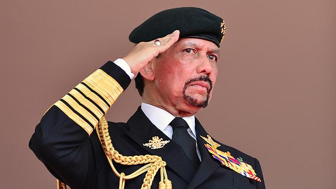 Brunei's Sultan Hassanal Bolkiah (Reuters / Ahim Rani)