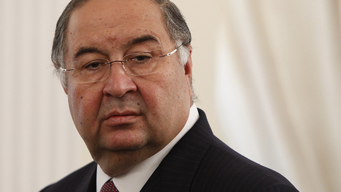 Russian businessman Alisher Usmanov (AFP Photo)
