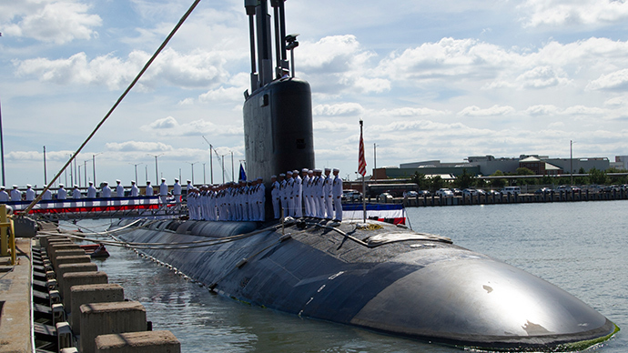 Virginia-class attack submarine USS Minnesota (AFP Photo)